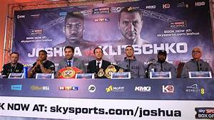 Joshua vs Klitschko: Joshua Is Just A 'Puncher ...