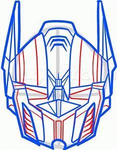 How to Draw Optimus Prime Easy, Step by Step, Characters ...