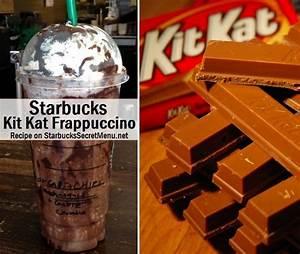 Starbucks Kit Kat Frappuccino | Starbucks Secret Menu