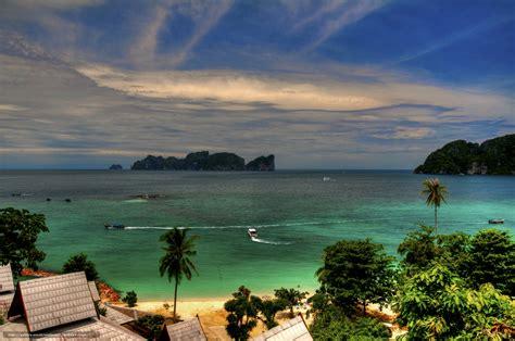 Download Wallpaper Paradise View Koh Phi Phi Don