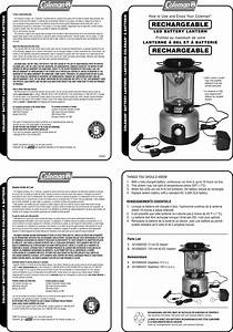Coleman 2000000940 Users Manual Rechargeable Led Battery