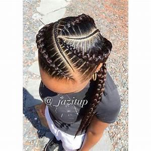 Feed In Braids Goddess Braids Pinterest Hair Style