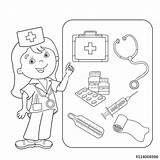 Coloring Aid Pages Thermometer Kit Doctor Medical Outline Kool Band Drawing Cartoon Printable Sheets Sheet Getcolorings Colorings Getdrawings Superior Coloringpagesfortoddlers sketch template