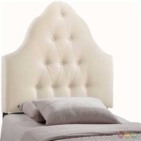 Sovereign French Inspired Button Tufted Twin Fabric