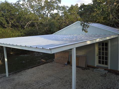 cotulla attached custom all steel carport carport