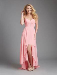 a line sweetheart high low coral chiffon ruched wedding With ruched dresses for wedding guest