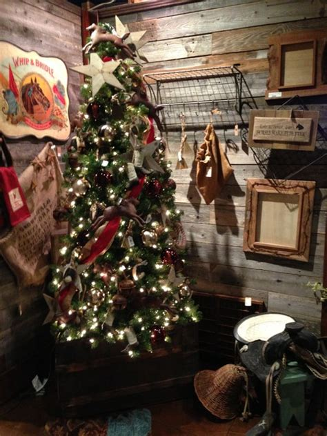 western christmas decor rustic atlanta by iron accents