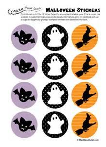 Free Printable Halloween Stickers