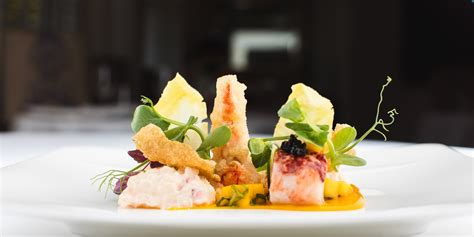 sous vide lobster salad recipe great british chefs