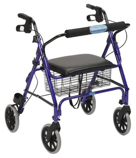 Bariatric Rollator Transport Chair by Wheelchair Assistance Drive Rollator Parts