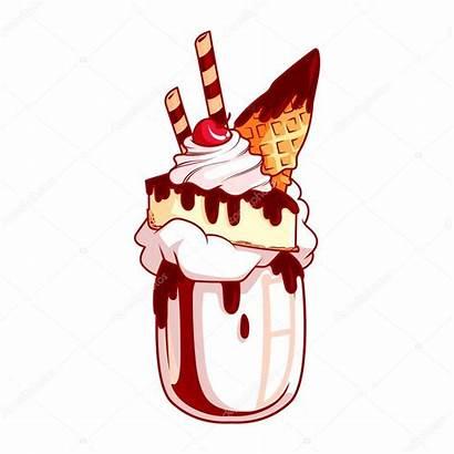 Milkshake Chocolate Cheesecake Clip Giant Shake Med