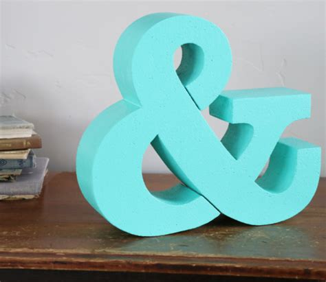 paint foam letters   pro diy craftcutscom