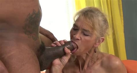 incredibly dirty titless granny rides staff penis of her