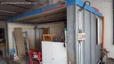 cabina di verniciatura usata annunci impianto verniciatura usato cabina di