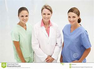 Group Of Professional Medical Women Royalty Free Stock ...
