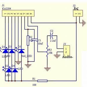 Ka2284 Audio Level Indicator Diy Electronic Kit Parts 3 5