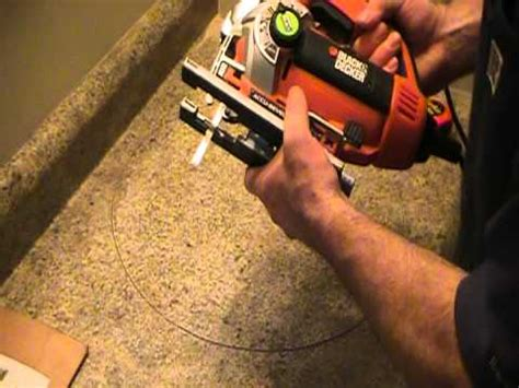how to cut kitchen countertop for sink how to cut out a countertop for a basin ot sink plumbing 9371