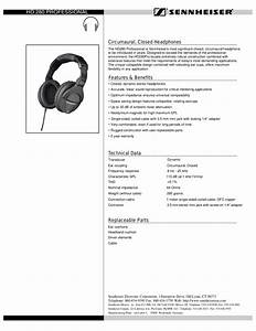 Download Free Pdf For Sennheiser Hd 280 Pro Headphone Manual
