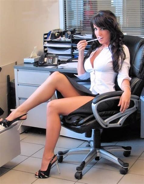 Sexy Secretary Hot Naked Brunette Porn Pornstar Adult