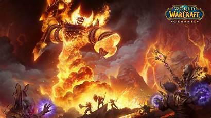 Warcraft 4k Uhd Classic Raid Wallpapers Title