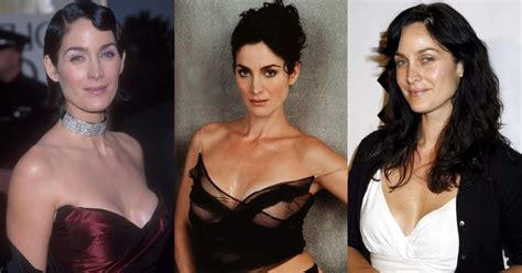 60 Hottest Carrie Anne Moss Boobs Pictures Will Make You