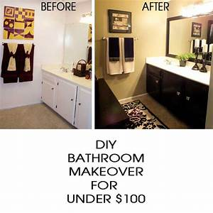 DIY Bathroom Makeover - Two Sisters