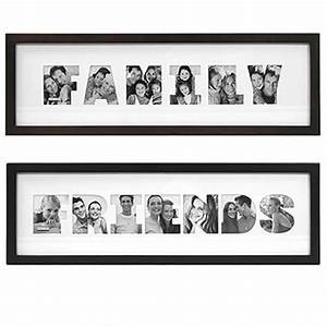 wooden family photo frame from china manufacturer only With cut out letter picture frames