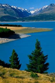 Lake Pukaki New Zealand South Island