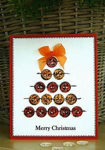 Tannenbaum Selber Basteln : weihnachtskarten selber basteln mit kn pfen 28 tolle ideen ~ Yasmunasinghe.com Haus und Dekorationen