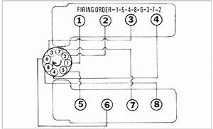 I Need A Diagram And Firing Order For The Spark Plug Order For A 1972 350 Sl