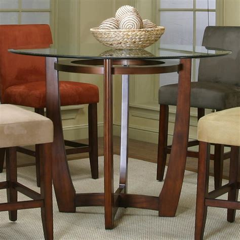 ideal depth and table for round ideal counter height kitchen tables