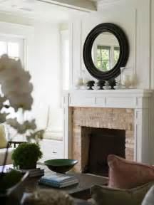 Hang Tv Above Brick Fireplace by Tricky Mantels Emily A Clark