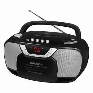Radio Cd Kassette : portable radio receiver with cd and cassette player spt ~ Jslefanu.com Haus und Dekorationen