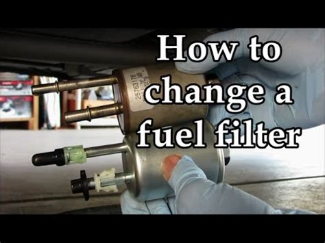 cadillac sts learn    replace  fuel filter