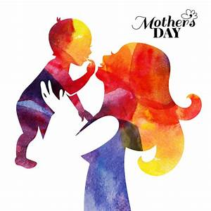 Creative mothers day art background vector 04 free download