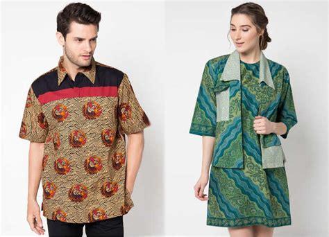 ッ 32 baju batik danar hadi untuk pria wanita modern terbaru