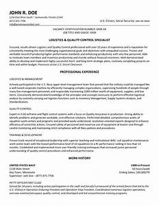 government resume example and template to use With how to make a resume for a government job