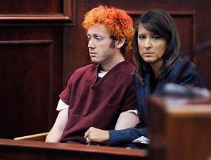 Colorado shooting suspect James Holmes looks dazed during ...
