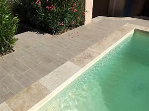 Carrelage Tour De Piscine : terrasse imitation parquet margelles de piscine en ~ Edinachiropracticcenter.com Idées de Décoration