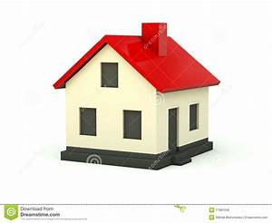 S Mit Dach : haus mit rotem dach lizenzfreies stockbild bild 17081346 ~ Lizthompson.info Haus und Dekorationen