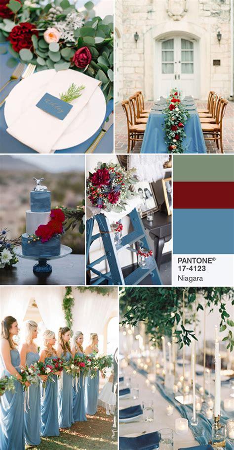 top  spring wedding colors  pantone