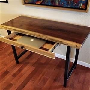 Buy Handmade Live Edge Furniture, Live Edge Blackjack Oak