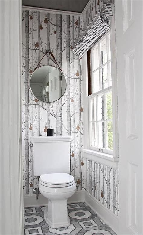 gray water closet with gray ceiling transitional