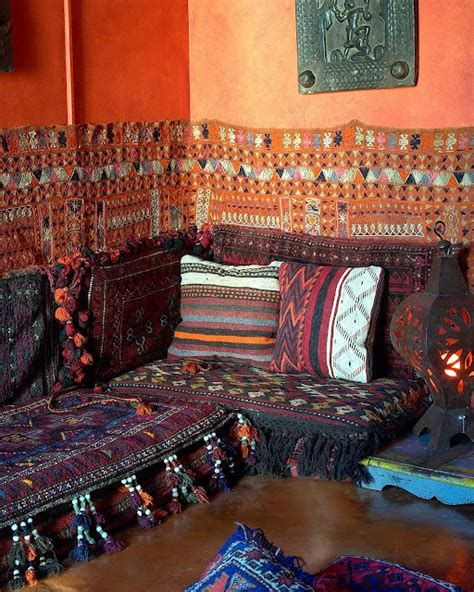moroccan themed house moroccan themed living room love the pillows and wall pattern home is where the heart is