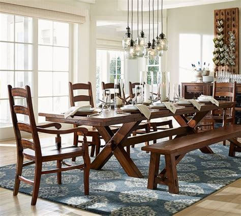 Pottery Barn Farmhouse Chairs by Crush And Covet Mutts Farm Tables In