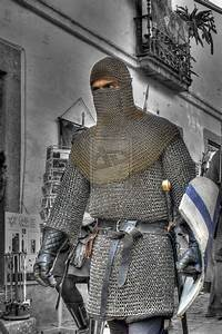 Knight in chainmail | Historical sites, artifacts, people ...