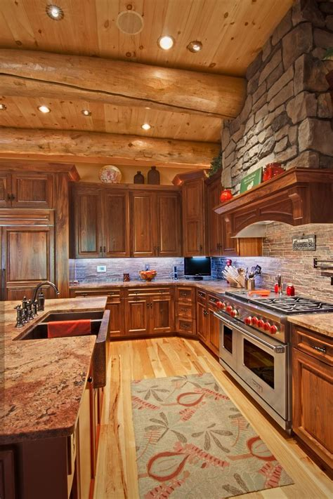 cabin kitchens ideas what is a log house ward log homes