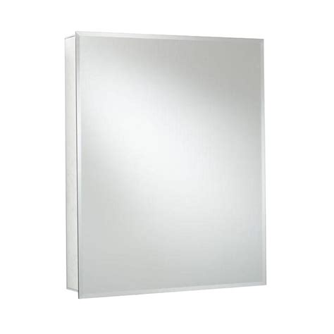 recessed mount medicine cabinet croydex 20 in w x 26 in h recessed or surface mount