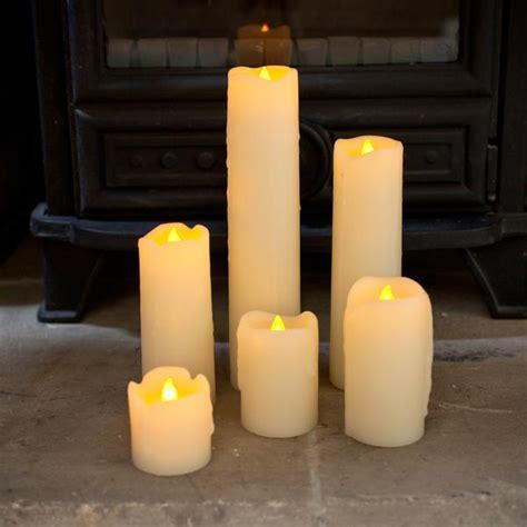 Party Lights   6pc LED Dripping Candles ? Future Light