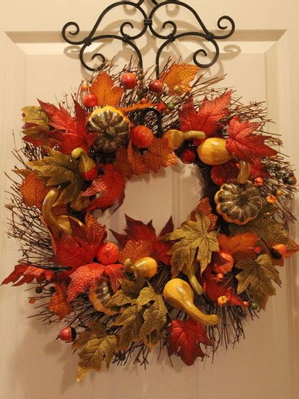 52 Fall Wreath Ideas  Simple Yet Creative Wreaths Removeandreplacecom